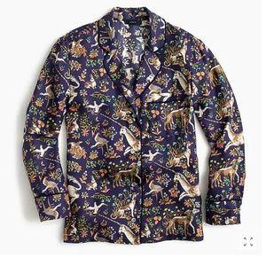 J. Crew Tops - J Crew Drake's Pajama Blouse Shirt